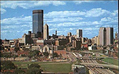 Ids Center Minneapolis, Minnesota Original Vintage Postcard