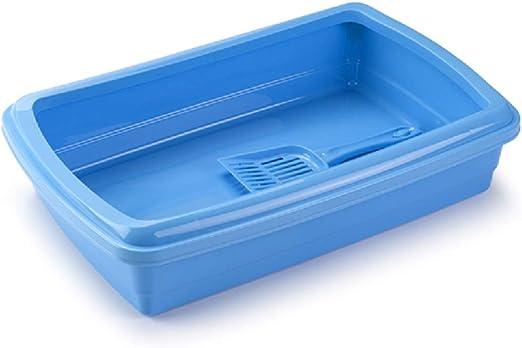 PLASTICFORTE Caja Arena Gato Plástico Cómoda Arenera Gatera para ...