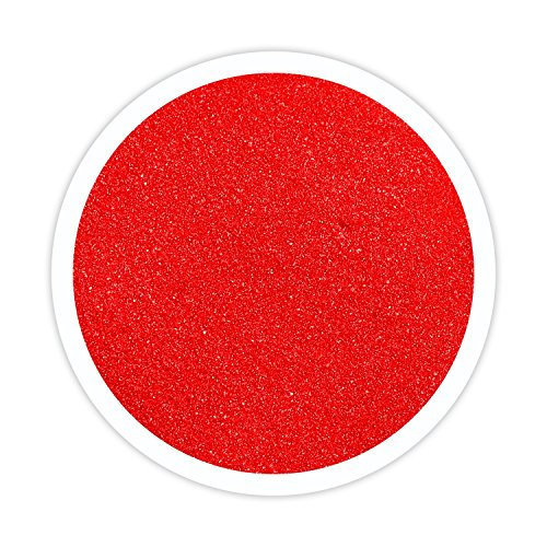 Sandsational Ruby Red Unity Sand~1.5 lbs (22 oz), Red Colored Sand for Weddings, Vase Filler, Home Décor, Craft ()