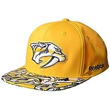 NHL Men's SP17 All Over Print Flat Brim Snapback Hat
