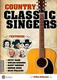 Country Classic Singers: Marty Robbins, George Jones, Hank Williams, Patsy Cline, Waylon Jennings 5 DVD Set