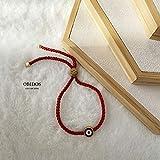 Evil Eye Bracelet Red String Kabbalah Protection