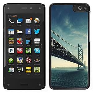 LECELL--Funda protectora / Cubierta / Piel For Amazon Fire Phone -- Arquitectura EE.UU. Hermosa San Fran Puente SF --