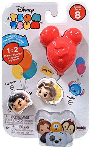 Disney Tsum Tsum Series 8 - Gaston/Belle/Tsumprise