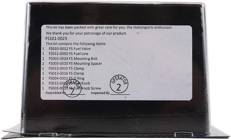 Fuel Star FS101-0023 Fuel Valve Kit