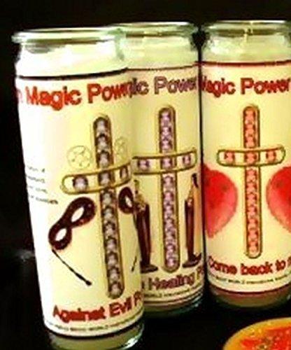 Against Evil Power Ritualkerze gegen Negative Energien, Schwarze Magie Chamuela®