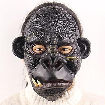 MILLY MMFiestas de baile del gorila trompeta tontos de Halloween que realizan los apoyos de alto