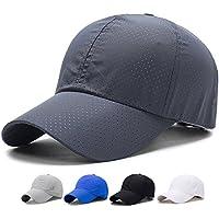 SHANLIANG Quick Dry Sports Hat Lightweight Breathable Soft Outdoor Run Baseball Cap