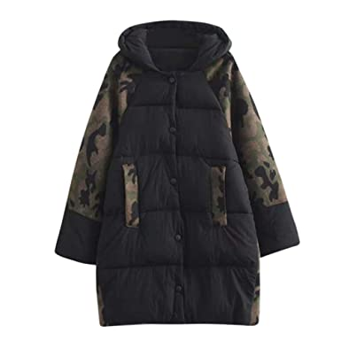 TianWlio Jacken Parka Mäntel Damen Herbst Winter Warme