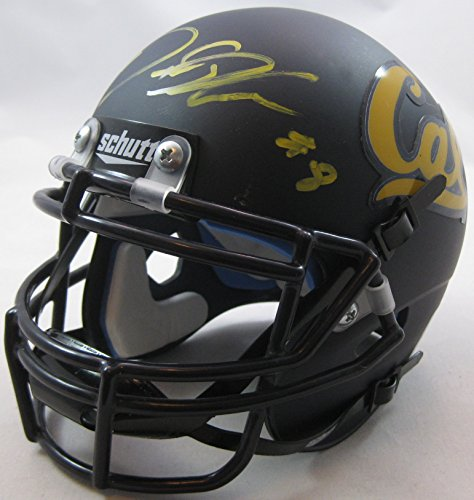 Demetris Robertson, California Golden Bears, Cal Bears, Signed, Autographed, Mini Football Helmet, a COA with the Proof Photo of Demetrius Signing the Football Will Be Included