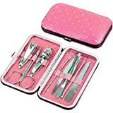 Domai Nail Tools Set Gift 8pcs in1 Set Nail Clippers Nail Care Set Stainless Steel Utility Manicure Set Tools