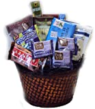 Everything Chocolate Healthy Gift Basket by Well Baskets