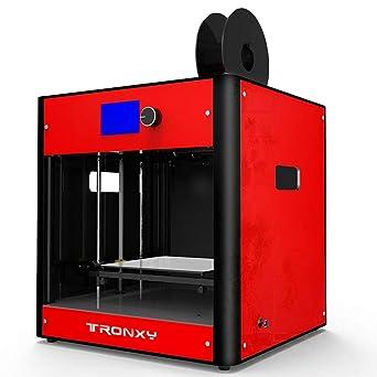 tronxy C5 3d impresora empotrable Set Alta Precisión LED Pantalla ...