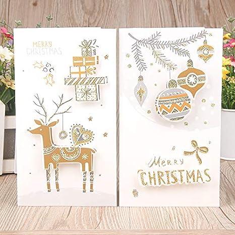 Amazon.com: Tarjeta de felicitación de Navidad, lambergroup ...