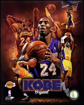 Kobe Bryant 2013 Portrait Plus Art Poster Print Unknown