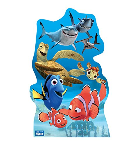 Advanced Graphics Finding Nemo Group Life Size Cardboard Cutout Standup - Disney Pixar's Finding Nemo]()
