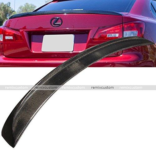 06-12 Lexus IS250 IS350 Carbon Fiber Trunk Spoiler