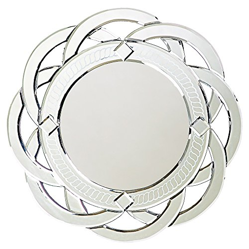 Howard Elliott  Galaxy Round Mirror, 20-Inch round wall mirror