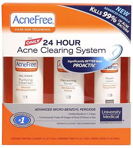 Tratamiento Completo Para El Acne De Fuerza Maxima - Cremas Anti Acne (Limpieza De Cutis)