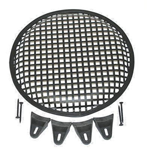 - 12 Inch Universal Metal Car Audio Speaker Sub Woofer Grill Cover Guard Protector With Screws and Clips