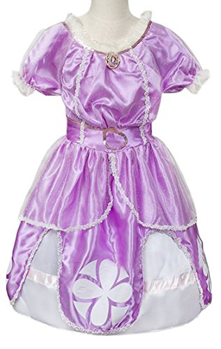 [Eyekepper Sofia the First Dress Costume Princess Dress UP 3-7 Years] (Sofia The First Dress Up Costume)