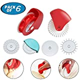 Pastry Wheel Cutter Decorator and Cutter, Beautiful Pie Crust Pastry Wheel, Durable Pizza Pastry Pie Lattice Decoration Cutters Tool Great for Kid-Friendly Baking & Cooking Tool