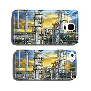 close up exterior strong metal structure of oil refinery plant i cell phone cover case iPhone5