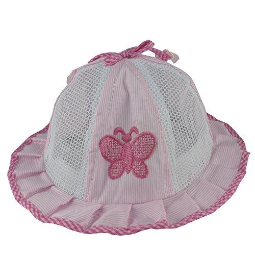 Easykan Kids Girls Newborn Infant Sun Hat Toddler Butterfly Bowknot Cap (Hat Granny)