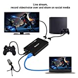 HDMI 2.0 Game Capture Card Live Streaming, 4K