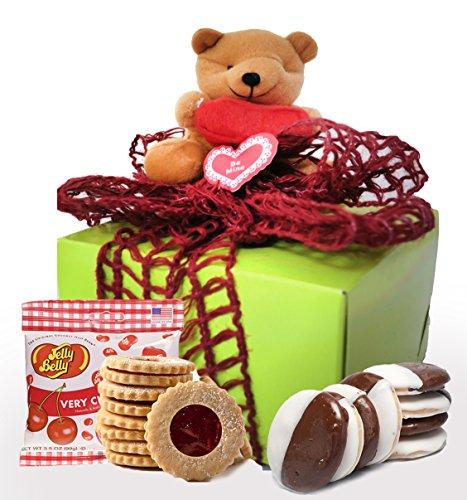 Gluten Free Palace Kosher Valentine Gift Box, Valentine Day Cookies, Gluten Free Valentine Treats, Valentine Gift Basket, Small Valentine Box