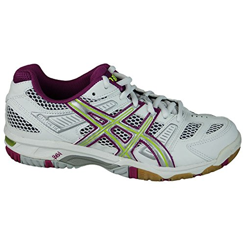 Volleyball Asics violet blanc Femme Chaussures de Gel Tactic vert w7Iq7aT