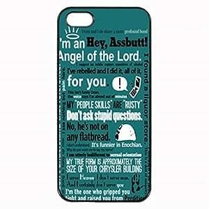 Supernatural Quotes Custom Diy Unique Image Durable Rubber Silicone Case for Iphone 4 4S Case
