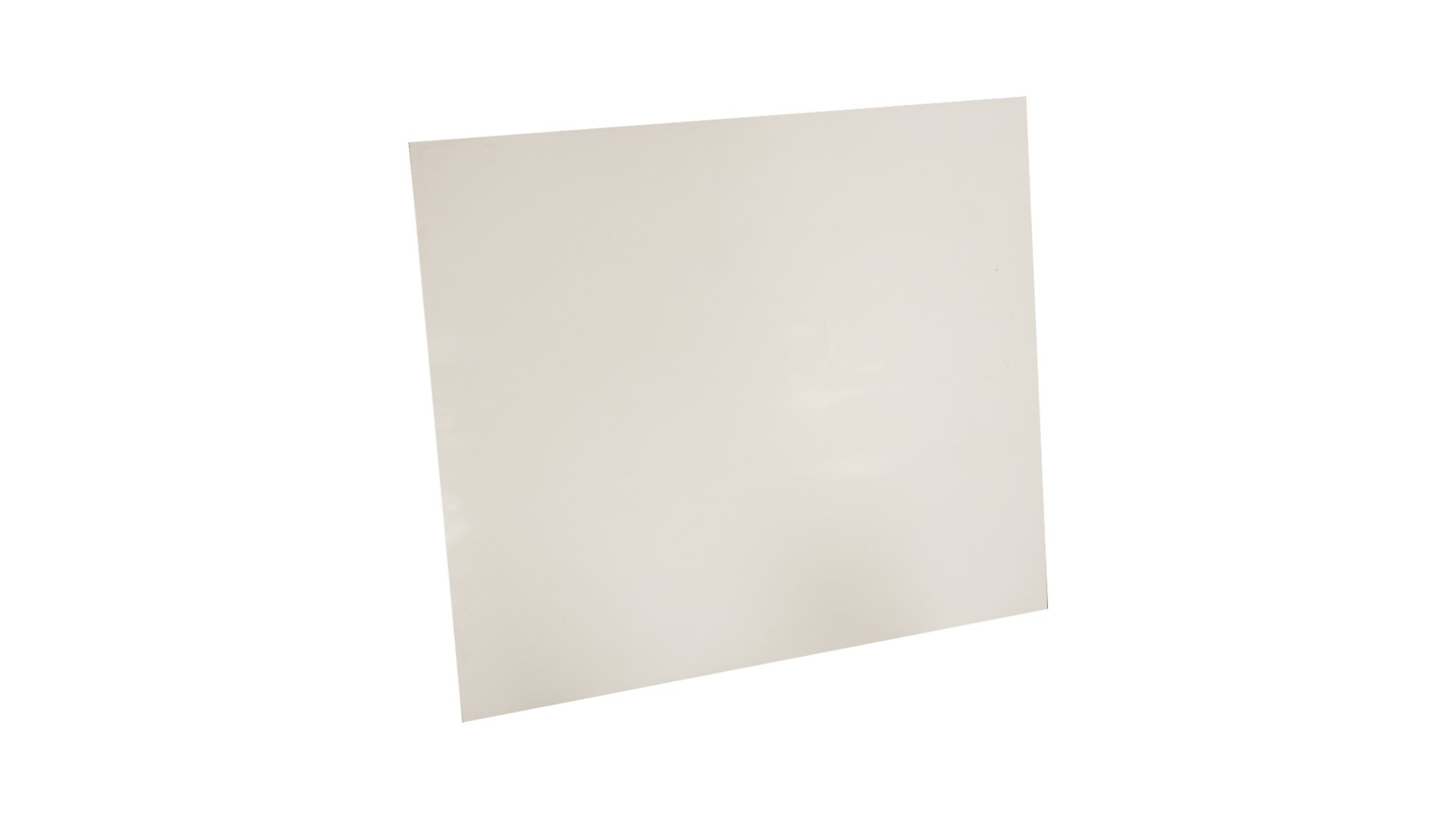 Sterling Seal & Supply Expanded PTFE Sheet, .5 mm Thick, 12'' x 12'', White (1 sheet)