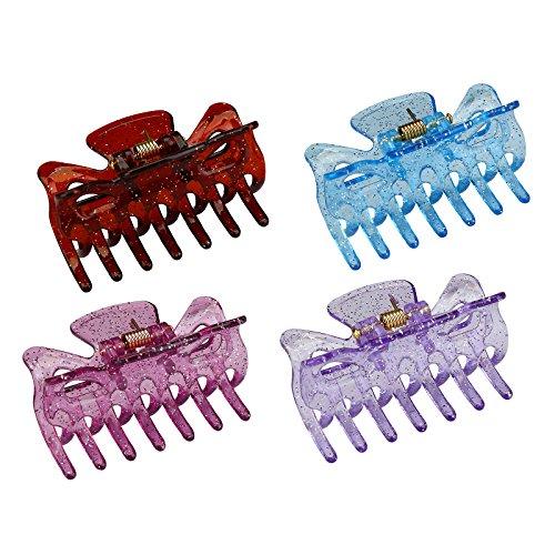 micro claw hair clips - 7