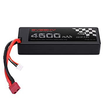 Amazon.com: LiPo Batería 2s 4500mAh 7.4V 40C RC Lipo ...