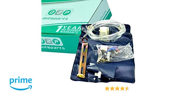 D2P Parabrisas arandela Jet Fluid Bolsa Botella/Tanque/Bomba 12 V 1.0Ltr Kit Coche/Hotrod/4 x 4: Amazon.es: Coche y moto