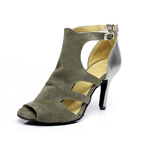 Women's Shoes Q Dance T Suede Grey Grey Heel Stiletto T xpHqEI4