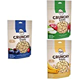 NUTRO Crunchy Dog Treats Apple, Banana & Mixed Ber...