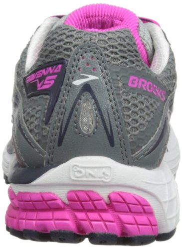 pink midnight Brooks Donna Ravenna Scarpe Grey Corsa Women Da Glow primer 5 SPqCw0S