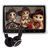 10.1 Inch HD Digital And Wide Screen, Super-Thin Car Headrest Dvd Player With