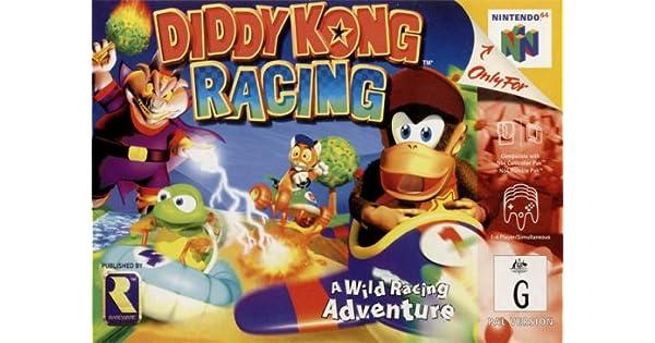 N64 - Diddy Kong Racing: Amazon.es: Videojuegos
