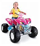 Power Wheels Barbie Kawasaki KFX with Monster Traction