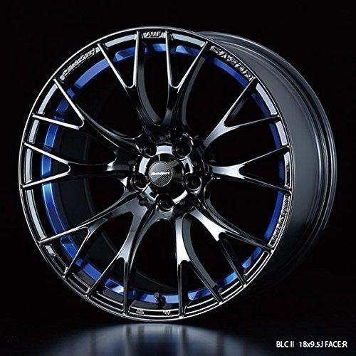 WedsSport (ウェッズスポーツ) アルミホイール SA20R 18X9.5+45 5H 100 BLCII (ブルーライトクロームツー) B01D4WCZFI 9.5J|BLCII (ブルーライトクロームツー) BLCII (ブルーライトクロームツー) 9.5J