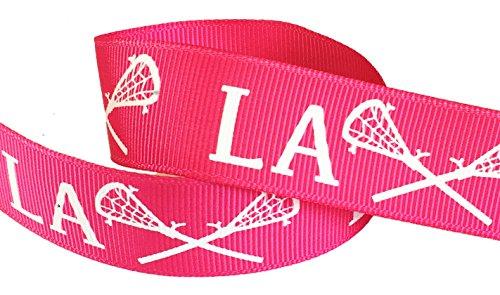 Lacrosse Ribbon, Shocking Pink-Hipgirl 5yd 7/8