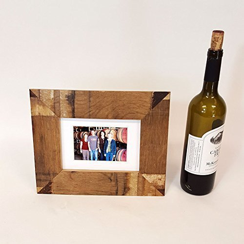 Amazon Wine Barrel Picture Frame 5x7 Handmade Made From Napa