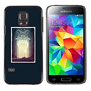 LECELL--Funda protectora / Cubierta / Piel For Samsung Galaxy S5 Mini, SM-G800, NOT S5 REGULAR! -- Alice Poster Fairytale Story Kids Child --