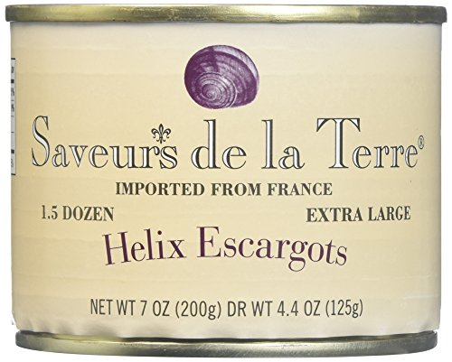 Helix Extra Large Escargot (18 piece) by Saveur de La Terre (7 ounce)