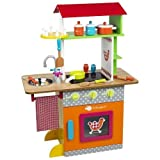 Serra Baby For Kids Wooden Kitchen - Fresh Farm Dual Kıtchen