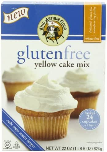 Baking Mixes: King Arthur Gluten Free Yellow Cake Mix