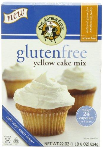 - King Arthur Cake Mix, Yellow, 22 Ounce